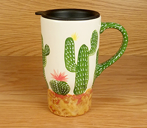Frisco Cactus Travel Mug