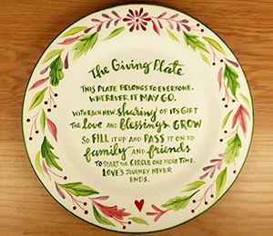 Frisco The Giving Plate