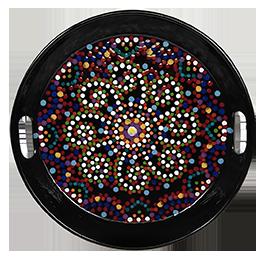 Frisco Mosaic Mandala Tray