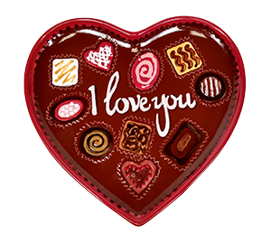 Frisco Valentine's Chocolate