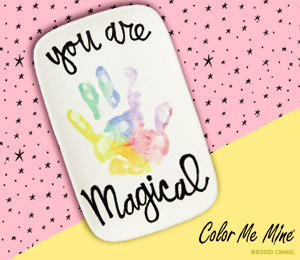 Frisco Rainbow Hand-print