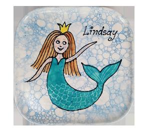 Frisco Mermaid Plate