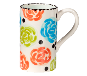 Frisco Simple Floral Mug