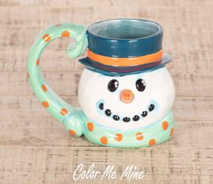 Frisco Snowman Mug