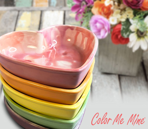 Frisco Candy Heart Bowls