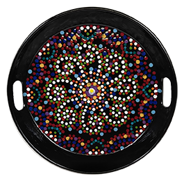 Plano Mosaic Mandala Tray