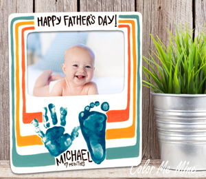 Plano Father's Day Frame