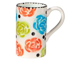 Plano Simple Floral Mug