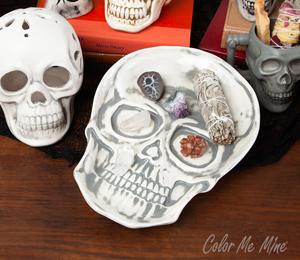 Plano Vintage Skull Plate