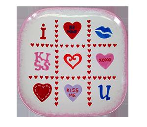 Plano Valentine's Tic Tac Toe