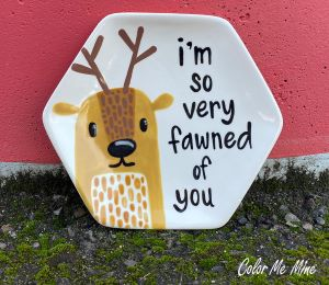 Plano Fawn Plate