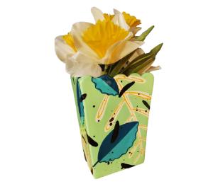 Plano Leafy Vase