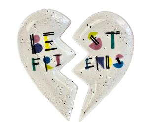 Plano Best Friends Plate Set