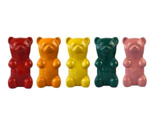 Plano Gummy Bear Bank