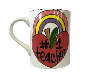 Plano Rainbow Apple Mug